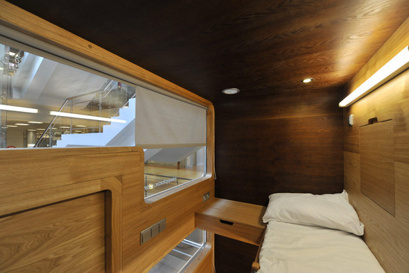Японский капсульный отель. Изображение № 21.