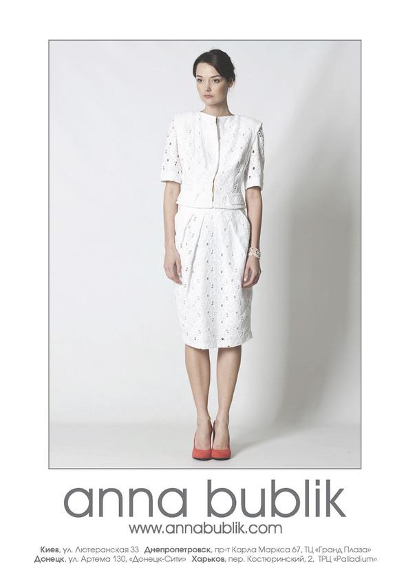 Кружева и белый, элегантно и комфортно - летний лук от anna bublik. Изображение № 1.