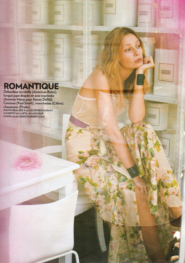 Изображение 105. Съемки: Harper's Bazaar, Industrie, Vogue и другие.. Изображение № 24.