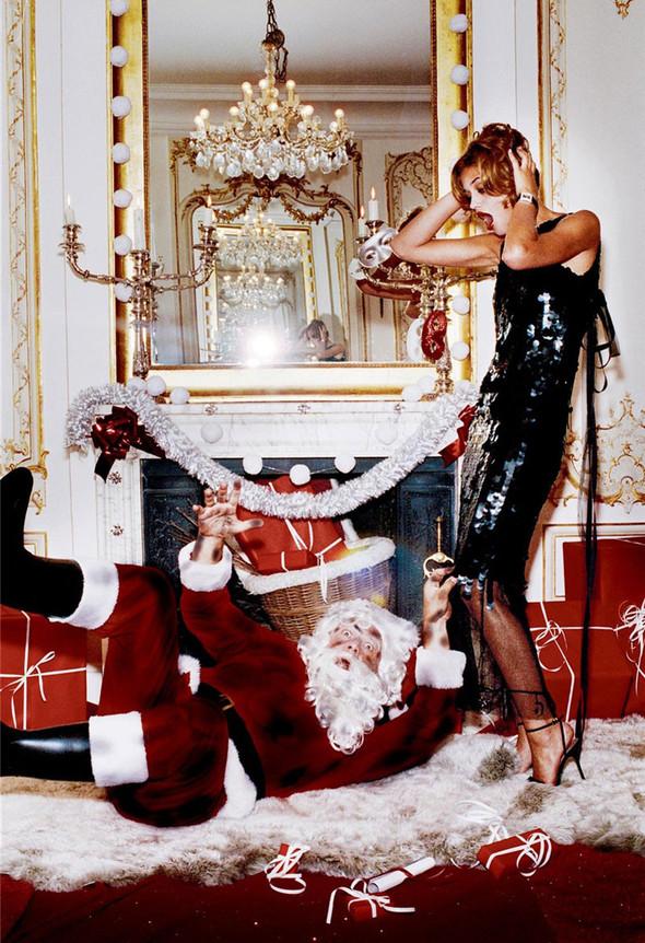 Архивная съёмка: Рождественская съёмка Эллен фон Унверт для Numero, 2004. Изображение № 7.
