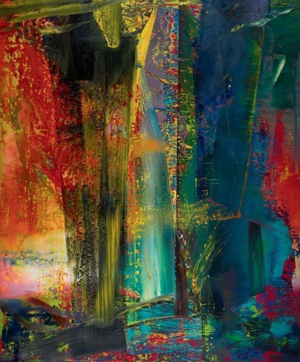 Abstraktes Bild 1986 года Герхарда Рихтера, $34 млн. Изображение № 2.