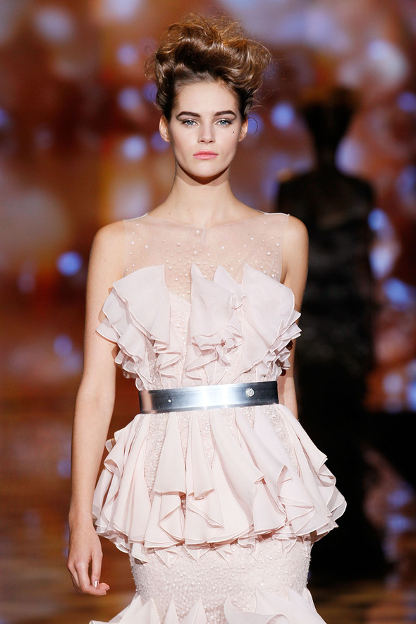 New York Fashion Week: Badgley Mischka Spring 2012. Изображение № 18.