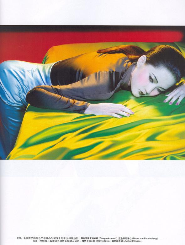 Цветная история ( China Vogue, Feb2006). Изображение № 5.