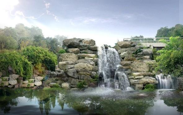 Изображение 3. Пейзажи Поднебесной.. Изображение № 3.