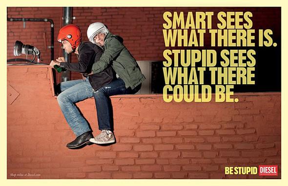 Кампания Be Stupid. Изображение № 7.