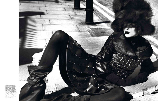 Новые съемки Dazed & Confused, Vogue, i-D и W Magazine. Изображение № 5.