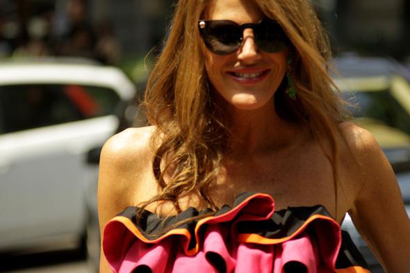 Изображение 15. Девушки на Milan Fashion Week: день 3 и 4.. Изображение № 14.
