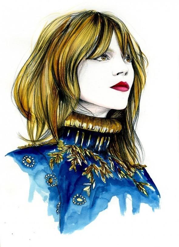 Изображение 28. Акварельные иллюстрации Caroline Andrieu.. Изображение № 28.