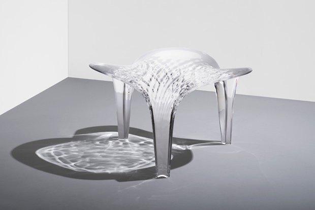 Заха Хадид создала новые предметы мебели для серии Liquid Glacial. Изображение № 4.