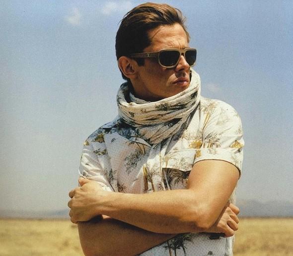 Кампания: мужская коллекция Louis Vuitton SS 2012. Изображение № 22.