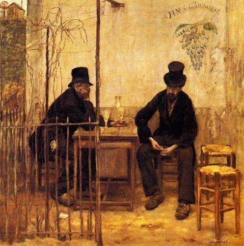 Жан-Франсуа Рафаэлли,Пьющие абсент. Изображение № 19.
