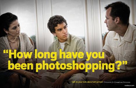 Рекламная кампания об арт-школе с пародией на наркотики. Изображение № 4.