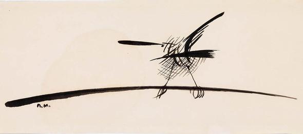 Графика Петра Митурича. Выставка в Третьяковской галерее. Изображение № 1.