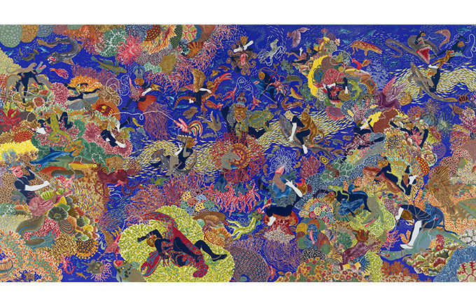 Raqib Shaw, The Garden of Earthly Delights III, 2003. Изображение № 44.