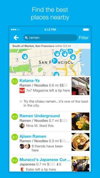 Обновилось приложение Foursquare для iOS 7. Изображение № 6.