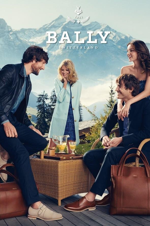 Превью кампании: Миранда Керр и Юлия Штегнер для Bally SS 2012. Изображение № 3.