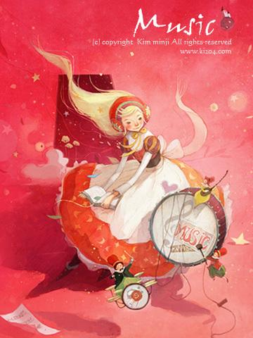 Kimmin ji– акварель видеальном исполнении. Изображение № 36.
