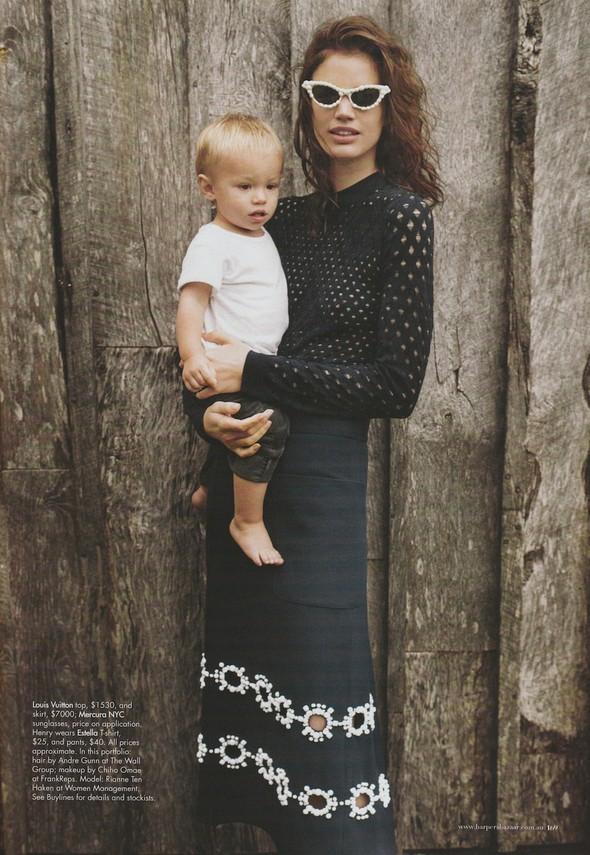 Съёмка: Рианне Тен Хакен для Harper's Bazaar. Изображение № 8.