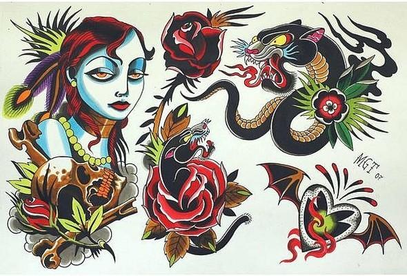 Tattoo Flash. Изображение № 8.