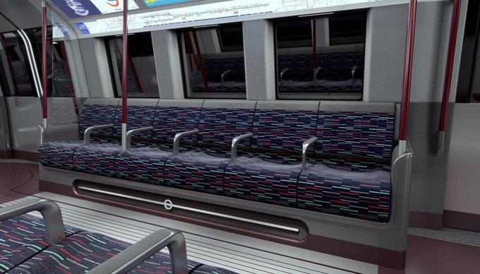 Фото: футуристические поезда метро в Лондоне. Изображение № 7.