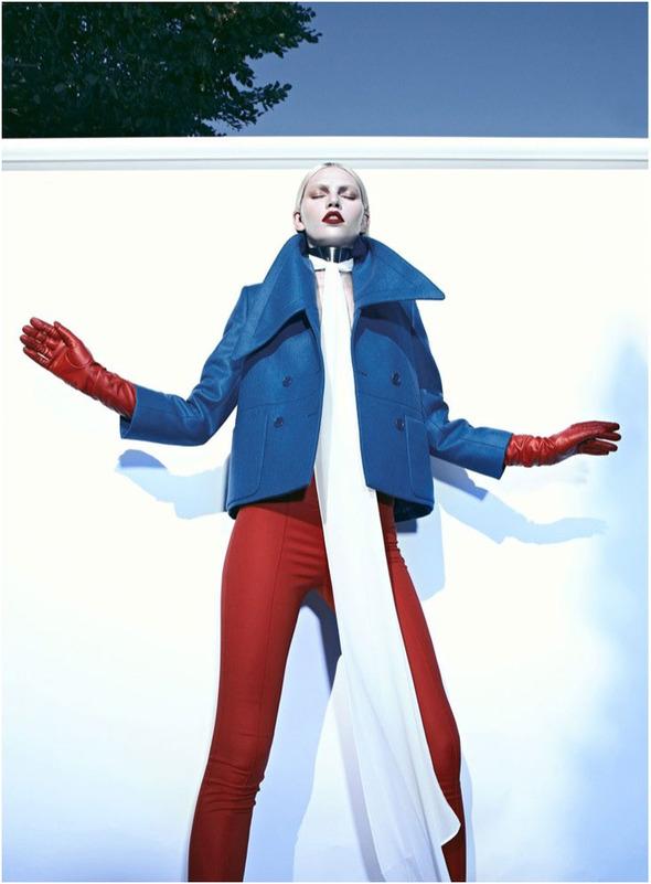 Съемки: Numero, Vogue, W и другие. Изображение №35.