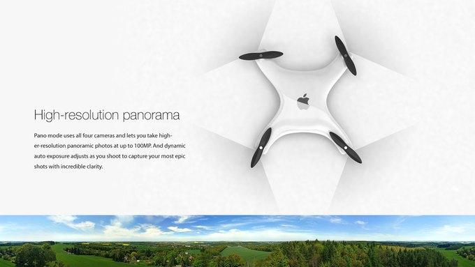 Немецкий дизайнер показал концепт Apple Drone. Изображение № 4.