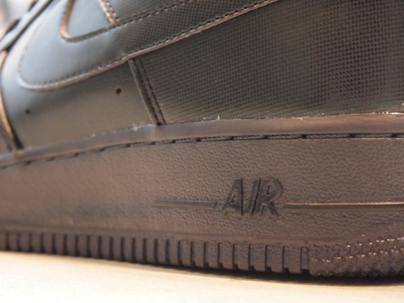 Nike Air Force 1 Low Premium 30th Anniversary – Black. Изображение № 1.