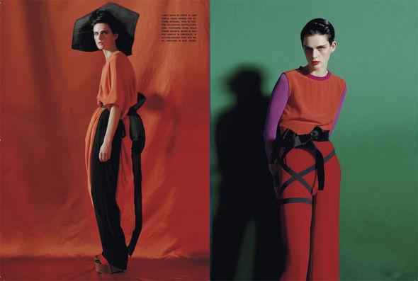 Изображение 35. Съёмки: i-D, Man About Town, Vogue и другие.. Изображение № 40.