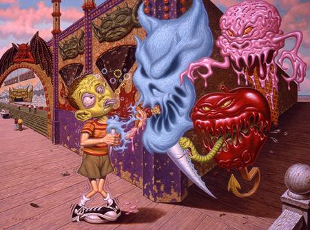 Эйсид-поп сюрреализм Тодда Шорра. Изображение № 10.