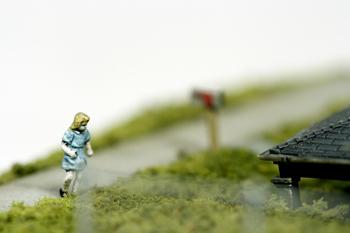 Нетрадиционный подход кфигуркам встеклянном шаре. Изображение № 11.