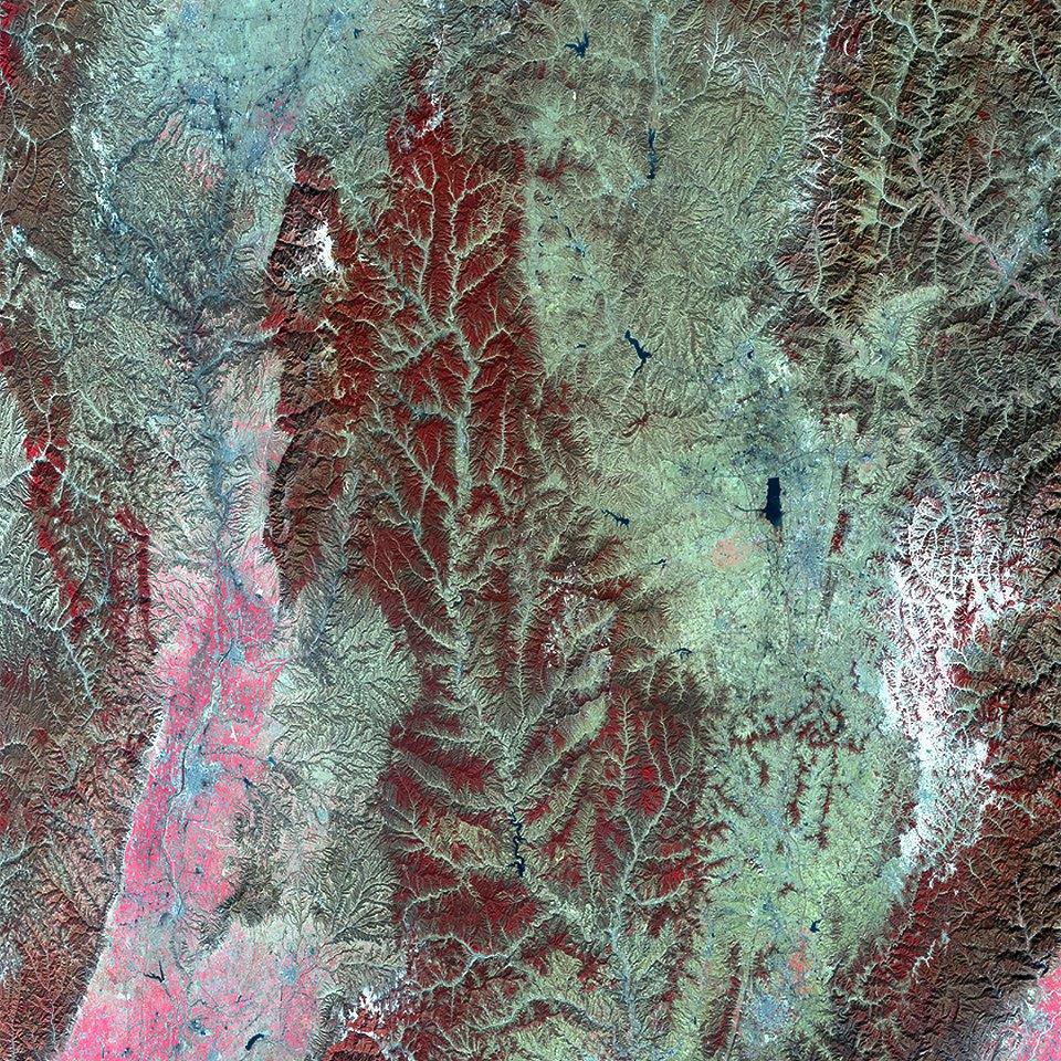 Как выглядит Китай: Сюрреалистичные фотографии из космоса. Изображение № 3.