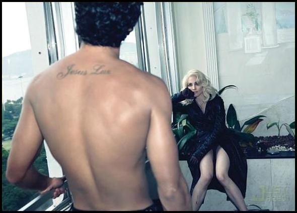 Madonna & Jesus дляWmagazine. Изображение № 13.