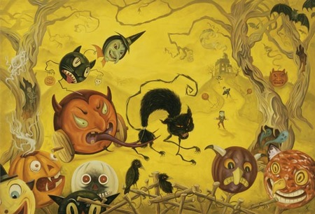 Эйсид-поп сюрреализм Тодда Шорра. Изображение № 48.