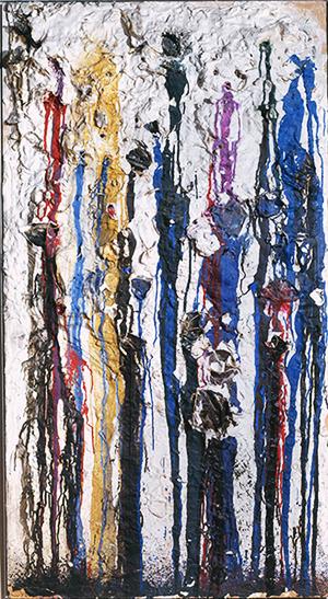 Картина Ники де Сент Фалль, написанная с помощью стрельбы краской (1961). Изображение № 8.