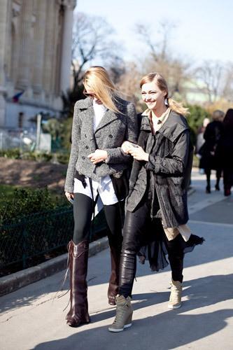 Нерабочее время: Блоги об уличном стиле моделей. Изображение № 22.
