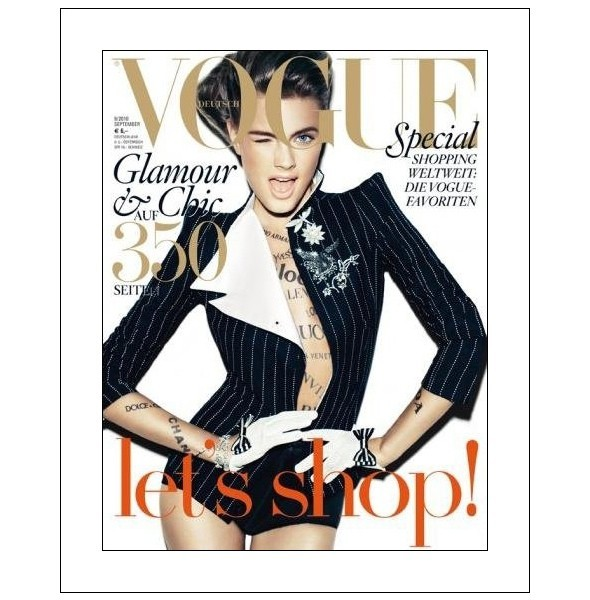 7 обложек сентябрьских номеров Vogue. Изображение № 3.