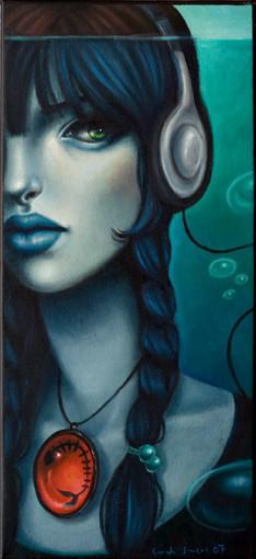 Sarah Joncas – девушки, рыбы измеи. Изображение № 5.