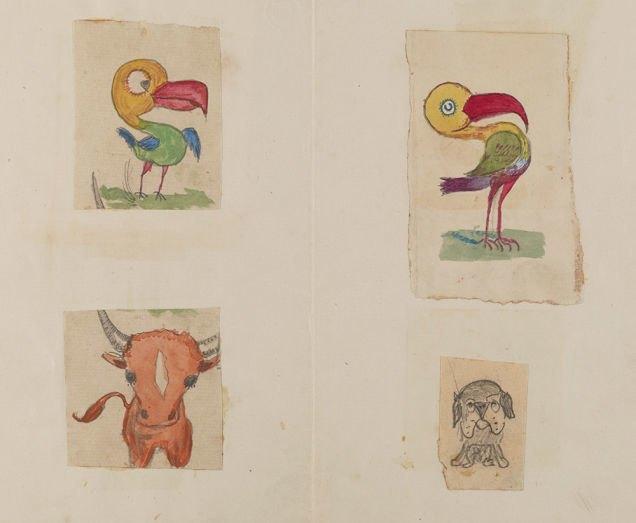 Фото: рисунки детей Дарвина на страницах «Происхождения видов». Изображение № 2.