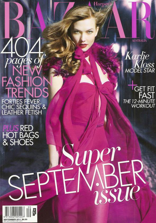 Обложки: Elle, Flare, Harper's Bazaar и Numero. Изображение № 3.