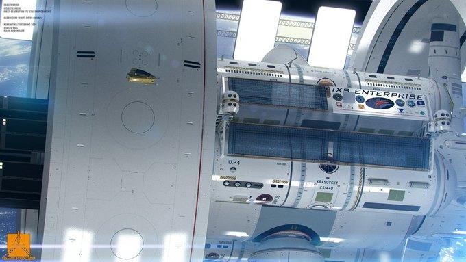 Опубликован концепт корабля NASA с варп-двигателем . Изображение № 6.