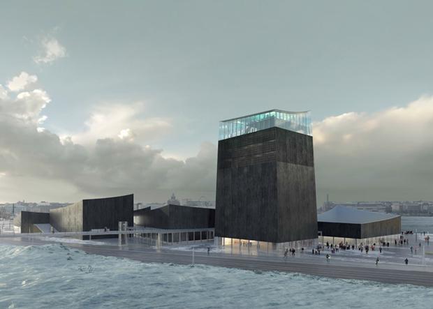 Показан проект Музея Гуггенхайма в Хельсинки . Изображение № 4.