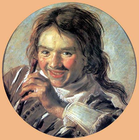 Франс Хальс, Смеющийся мальчик с флейтой . Изображение № 9.