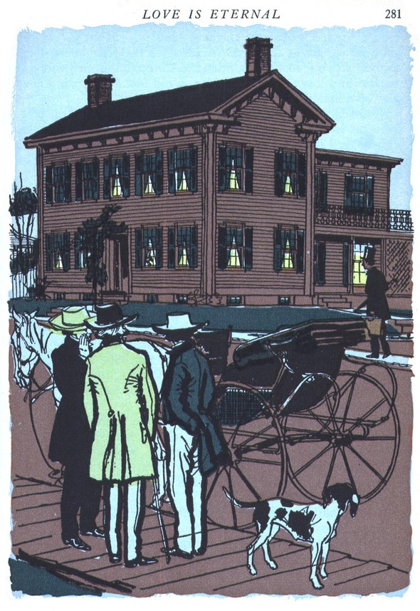 Американские иллюстраторы 40–60гг. ЧАСТЬ 1. Изображение № 60.