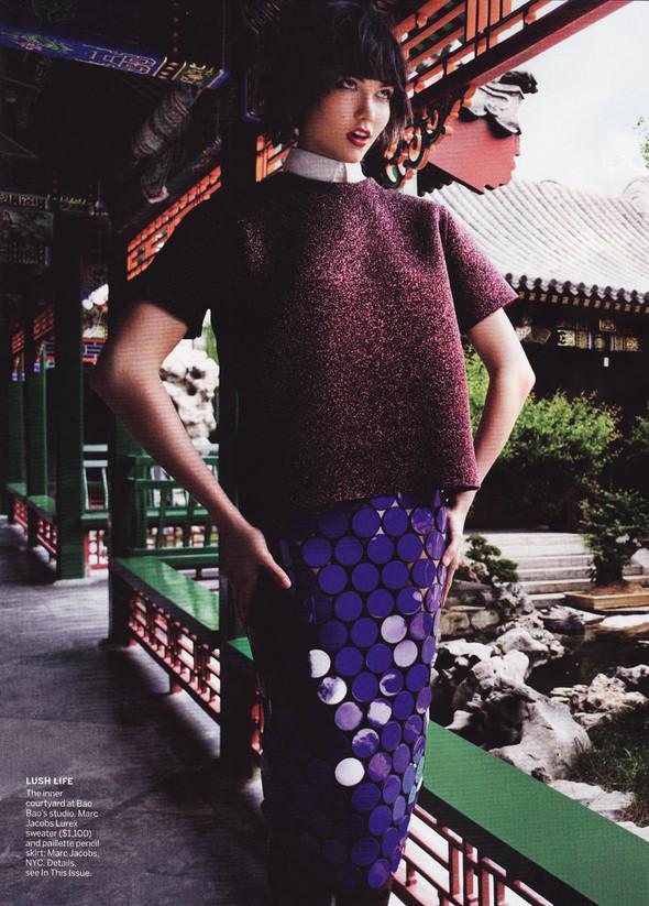 Съёмка: Карли Клосс в объективе Марио Тестино. Изображение № 3.