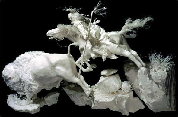 Бумажные скульптуры. Изображение № 4.