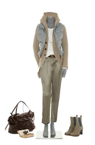 Brunello Cucinelli: лукбук осень-зима 2011/2012. Изображение № 56.