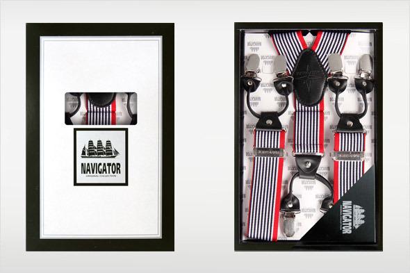 Коллекция подтяжек «Навигатор» от Sevaro Elit . Изображение № 6.