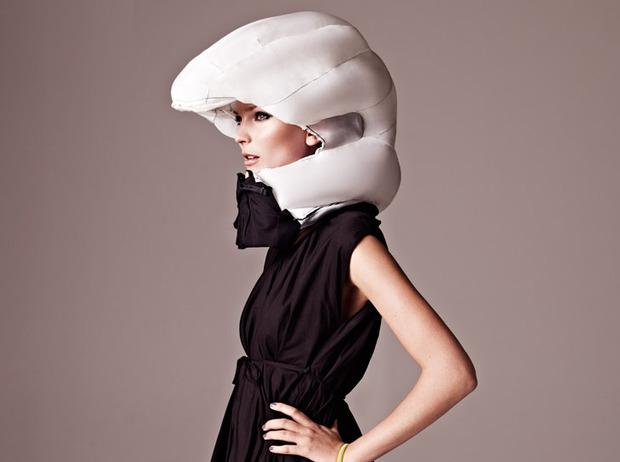Невидимый велосипедный шлем Hövding. Изображение № 2.