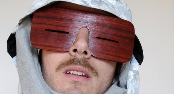Узкоглазые деревянные очки. Изображение № 3.