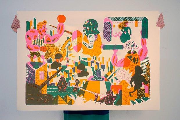 50 постеров, которые вдохновляют заняться шелкографией. Изображение № 11.